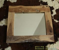 Rustic mirror! #rustic_mirror #mirror #rustic