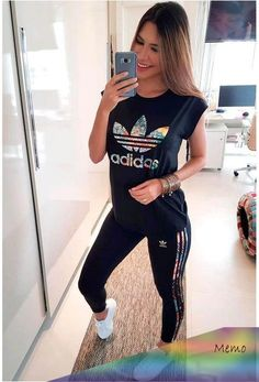 Babadotop looks adidas, sporty outfits, nike outfits, fashion outfits, adid Nike Outfits, Adidas Outfit, Sporty Outfits, Athletic Outfits, Chic Outfits, Summer Outfits, Fashion Outfits, Pretty Outfits, Fashion Tips