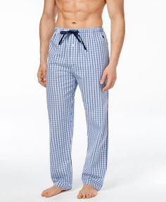 Polo Ralph Lauren Men's Plaid Woven Pajama Pants