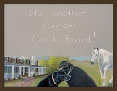 Rene's  Chalk Board by Bethlc, via Flickr