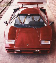 Countach. Pronounce it right.