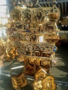 Finnish woodcrafts.  ...photo from Hogans Blog: Autumn Fair in Finland