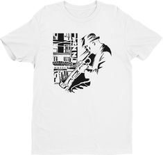 Jazz Trumpet T-shirt – Men's Short Sleeve