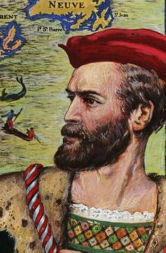 JAQUES CARTIER. FRENCH EXPLORER. SAYS IT ALL. THE HOKEY POKEY MAN AND AN INSANE HAWKER OF FISH BY CONNIE DURAND. AVAILABLE ON AMAZON KINDLE
