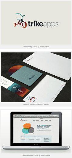 TrikeApps – Brand Identity by Jimmy Gleeson