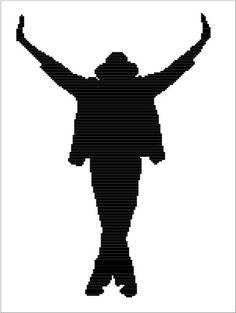 Michael Jackson This Is It Silhouette Graphghan by TheLoopCrochet Michael Jackson Tattoo, Michael Jackson Party, Michael Jackson Dangerous, Michael Jackson Thriller, Coldplay Art, Egyptian Tattoo Sleeve, Hindu Statues, Jackson's Art, Music Pics