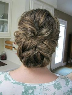 Wedding hair. Soft & romantic
