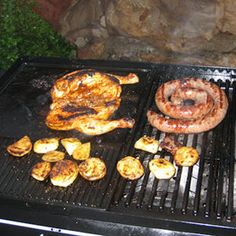South African Braai Boerewors Peri Peri Chicken And Peri Peri Prawns