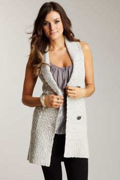Cullen Caramel Long Sweater Vest | Misovanilla. | Pinterest | Long ...