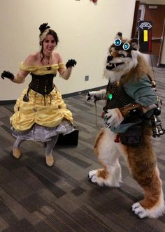 Steampunk Belle: The Beauty and the Beast cosplay and inspiration