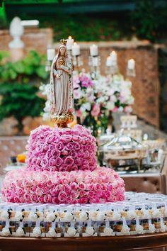 Casamento rústico-chique: santa no casamento - Foto Rafaela Azevedo