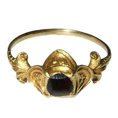 Renaissance Gemstone Ring-circa 1550. crazy old!