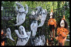 Halloween 2014, Primitive, Garden Sculpture, Events, Facebook, Creative, Outdoor Decor, Design, Couture Facile