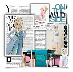 """""""Elsa: Round 3: Make-up"""" by elizabeth4ever ❤ liked on Polyvore featuring art"""