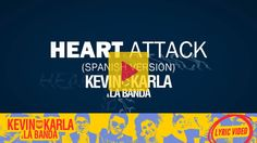 ENGLISH SONGS IN SPANISH | English: Heart Attack by Demi Lovato. Spanish: Ataque al Corazón by Kevin Karla & La Banda