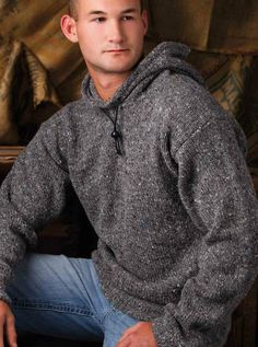 #Ravelry: His Favorite Hoodie #pattern by Shannon Mullett-Bowlsby for Creative #Knitting, September 2012  Shibaguyz.com
