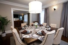 Can you share the paint color porter paint whiskers for Property brothers dining room designs