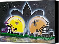 lsu football paintings - Google Search