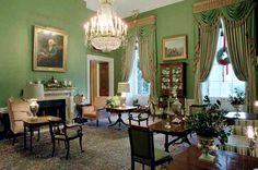 White House Green Room.