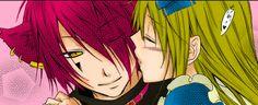 HNKNA: Boris X Alice Kiss by NekoInari-chan.deviantart.com on @deviantART