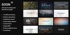 Soon - Universal Coming Soon WordPress Plugin