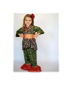 Little Girls Holiday Outfit - Sizes 2T to 7 years - Christmas Outfit - Toddler Outfit - Santa Outfit