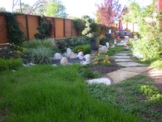 Pathway and Xeriscaping by Bill Rose from Blissful Gardens