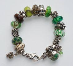 Faye Skoczylas's forest themed bracelet