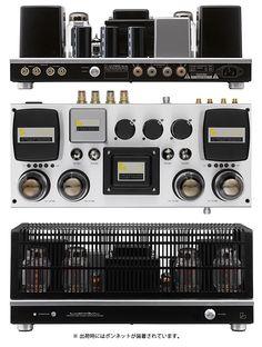 High end audio audiophile Luxman Vacuum tubes