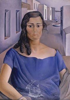 Dali, Salvador - Portrait de ma soeur (1925) - Musée-Théâtre Dali, Figueres