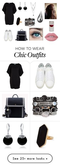 """""""Sem título #416"""" by dreamsweet98 on Polyvore featuring Yves Saint Laurent, Lime Crime, Bling Jewelry, Jaeger, La Prairie and modern"""