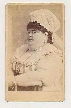 Fat-Lady-Freak-Show-c-1880-CDV-Photo-By-Abraham-Bogardus-New-York