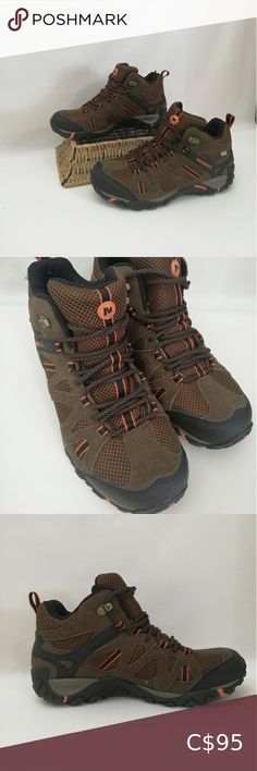 Merrell Ankle Hiking Boots New without box. Merrell Shoes Merrell Shoes, Plus Fashion, Fashion Tips, Fashion Trends, Hiking Boots, Combat Boots, Man Shop, Ankle, Box