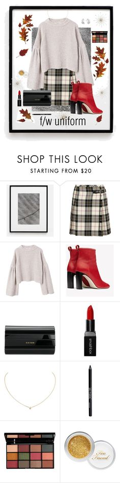 """Fall // Winter Uniform (Oversized Sweaters, Minis, & Boots on Repeat)"" by maggiesinthemoon on Polyvore featuring Miu Miu, MANGO, rag & bone, Elie Saab, Smashbox, Cartier, Urban Decay and NYX"