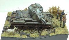 BT 42 1/35 Scale Model Diorama