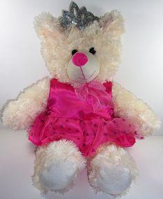2014 DANDEE Dan Dee Collector's Choice Princess Valentine's Teddy Bear Pink #DanDee