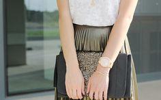 golden-skirt-topshop-zalando-freeman-t-Porter-white-top-tulia-mango-leopard-slipons-JORD-wooden-watch-primark-sequins-clutch-luz-necklace-ootd-style-outfit-inspiration-lovelifelovefashion-3