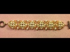 Pearl Button Bracelet Tutorial - YouTube