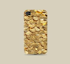 Shiny Fabulous Gold Sequin printed printed Plastic Hard Case - iphone 5/5s - iphone 4 - iphone 4s - Samsung S3 - Samsung S4 - Samsung Note 2...
