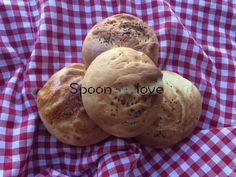 Τι θα λέγατε να δοκιμάζατε να φτιάξετε ένα υπέροχο ψωμάκια για τα παιδάκια σας; Με αλεύρι κλασσικό ή και ολικής το αποτέλεσμα θα σας εκπλήξει. Bread, Food, Meals, Breads, Bakeries, Yemek, Patisserie, Eten