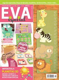 Artesanato - EVA : COL ARTE FACIL EVA ESPECIAL 019 - Editora Minuano