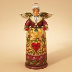 Warm Welcome-Williamsburg Christmas Angel Figurine - Christmas