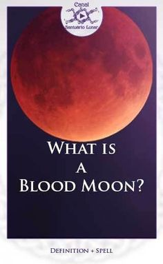 The Blood Moon is a phenomenon that occurs whenever we have a Total Lunar Eclipse. Read it to learn details about it and a spell to attract prosperity. Blood Moon Eclipse, Lunar Eclipse, Blood Moon Rituals, Moon Phrases, Moon Projects, Moon Spells, Moon Quotes, Moon Calendar, Moon Magic