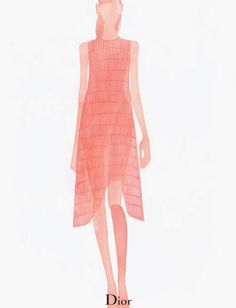 Watercolor for Dior by  Mats Gustafson