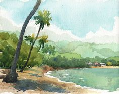 Anadel beach, Dominican republic by nina drawing, via Flickr