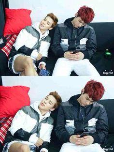BTS Jimin and Suga
