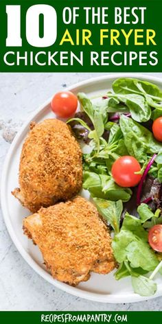 This Air Fryer Chicken Thighs recipe is healthy, hearty and full of flavour. Plus it's super versatile! Looking for a new spin on the usual weeknight keto chicken thighs? Then click through for the recipe! Air Fryer Recipes Vegan, Air Fry Recipes, Air Fryer Dinner Recipes, Air Fryer Healthy, Healthy Recipes, Healthy Food, Air Fryer Recipes Chicken Thighs, Keto Chicken Thighs, Chicken Thigh Recipes