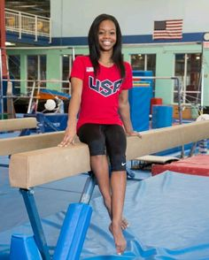 Gabby Douglas. Love this girl! She is so inspiring. I am so proud of her! I hope that she lives the rest of her life pursuing all of her hearts desires. If u love gabby as much as me, repin this.