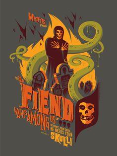tom whalen - misfits poster