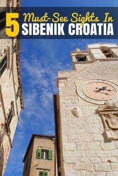 Things to do in Sibenik Croatia PIN
